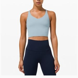 NWT Lululemon align tank, size 6 in Chambray